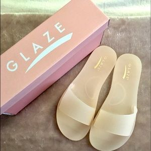 🛍Jelly sandals size 7